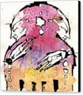 The Bi-polar Canvas Print by Mark M  Mellon