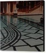 The Biggest Pool Canvas Print