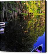 The Black Lagoon Canvas Print