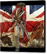The Black Loyalist Canvas Print by Kurt Miller
