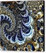 The Blue Diamonds Canvas Print