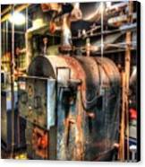 The Boiler Room Canvas Print by Michael Garyet