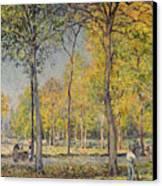 The Bois De Boulogne Canvas Print