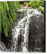 The Botanic Waterfall  Canvas Print by Lori Frisch