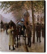 The Boulevards Canvas Print