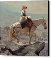 The Bridal Path Canvas Print by Winslow Homer
