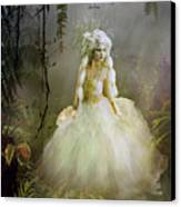 The Bride Canvas Print by Mary Hood