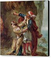 The Bride Of Abydos Canvas Print by Ferdinand Victor Eugene Delacroix