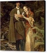 The Bride Of Lammermoor Canvas Print