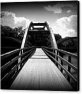 The Bridge Canvas Print by Trina Prenzi