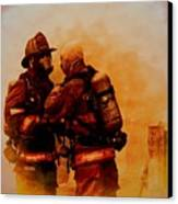 The Brotherhood Canvas Print by Diane Payne