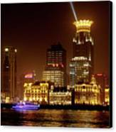 The Bund - Shanghai's Magnificent Historic Waterfront Canvas Print by Christine Till