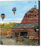 The Burch Farm Canvas Print