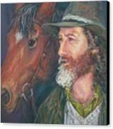 The Bushman Canvas Print