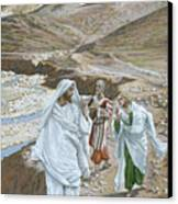 The Calling Of St. Andrew And St. John Canvas Print by Tissot