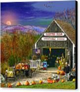 The Campton Farm Canvas Print by Nancy Griswold