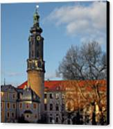 The Castle - Weimar - Thuringia - Germany Canvas Print