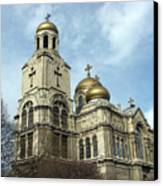 The Cathedral In Varna Canvas Print