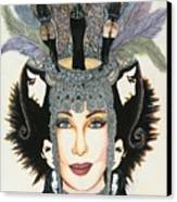 The Cher-est Painting Canvas Print by Joseph Lawrence Vasile