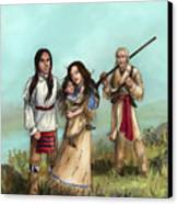 The Cherokee Years Canvas Print by Brandy Woods