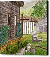 The Chicken Coop Canvas Print