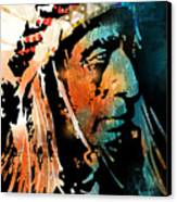 The Chief Canvas Print by Paul Sachtleben
