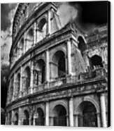 The Colosseum Rome Canvas Print by Darren Burroughs