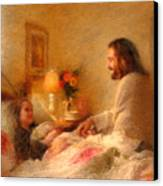The Comforter Canvas Print by Greg Olsen