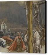 The Confession Of Saint Longinus Canvas Print by Tissot