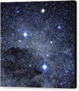 The Constellation Of The Southern Cross Canvas Print