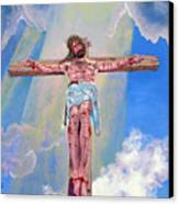 The Crucifixion Day Canvas Print
