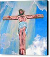 The Crucifixion Daytime Canvas Print