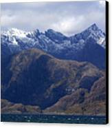 The Cuillin Mountains Isle Of Skye Canvas Print