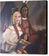 The Cynthia Ann Parker Family Canvas Print
