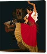 The Dance Of Passion Canvas Print