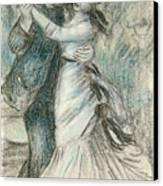 The Dance Canvas Print by Pierre Auguste Renoir