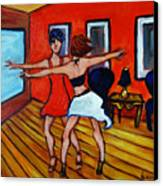 The Dancers Canvas Print