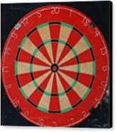 The Dart Board Canvas Print