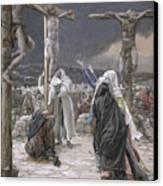 The Death Of Jesus Canvas Print