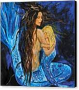 The Deepest Love Series 2 Canvas Print by Leslie Allen
