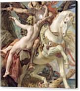 The Deliverance Canvas Print by Joseph Paul Blanc
