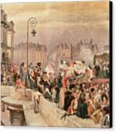 The Departure Of The Volunteers 1792 Canvas Print by Jean Baptiste Edouard Detaille