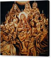 The Descent Of The Holy Spirit Canvas Print by Dino Muradian