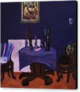The Dining Room Canvas Print