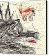 The Dog Portrait Canvas Print by Odon Czintos