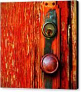 The Door Handle  Canvas Print