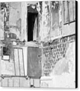 The Doorway To Darkness Canvas Print