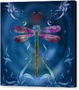 The Dragonfly Effect Canvas Print by Bedros Awak