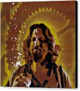 The Dude Canvas Print by Tai Taeoalii