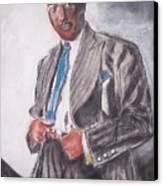 The Duke At The Cotton Club Canvas Print